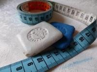 Мел и сантиметры швейные