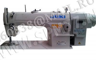Juki DDL-8100BM-7WBK Одноигольная машина(голова) на легк-сред.ткани с прямым приводом ,автоматикой : подъём лапки,обрезка нити,закрепка,позиц. иглы