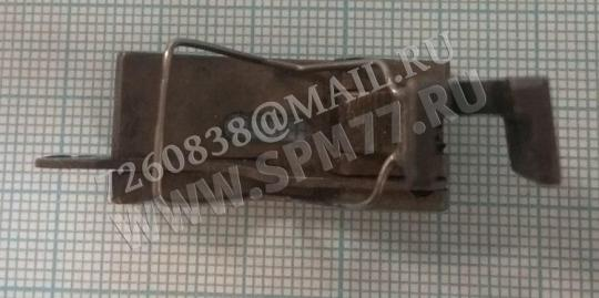 Лапка для отстрочки 3мм на 1022 кл, 97 кл,1597кл правая с подпружинной пластиной отечественная