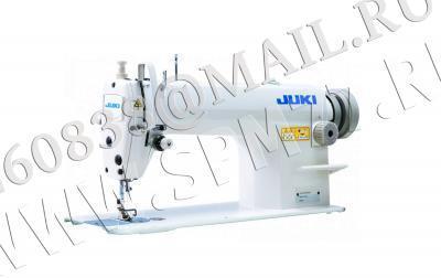 Juki DDL-8100еH/X73141швейная машина (голова) на сред-тяж.ткани, увелич.челноком, дл.стежка 7мм и вставкой крепл.приспособлений