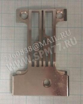 Игольная пластина 3х. игольная П-образная платформа (U-образная) ПМЗ 237кл.