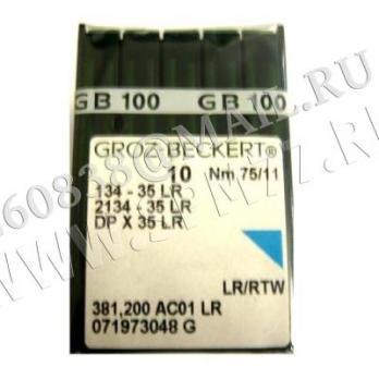 Игла Groz-Beckert DPx35LR (134x35LR) № 110/18
