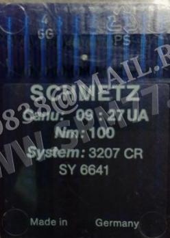 3207 CR Иглы SY 6641/ LQ X7/ 1441/ 68X7  №100/16 SCHMETZ