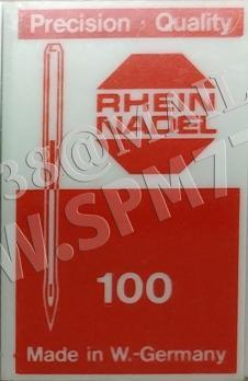 3207 CR Иглы  LQ X7/ 1441/ 68X7 /SY 6641/ №130/21 RHEIN NADEL (GERMANY)