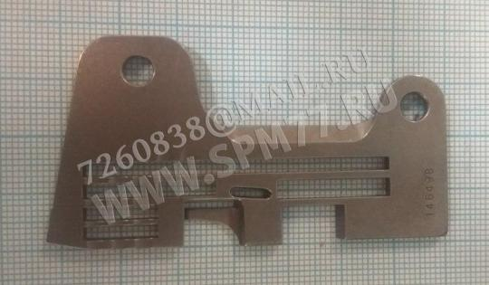 146498-001 Игольная пластина BROTHER MA4-551,581,631 Original (Япония !)
