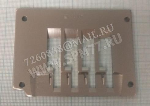 "E9404D Игольная пластина Siruba  VC-008 Original 12,7мм 1/2"""
