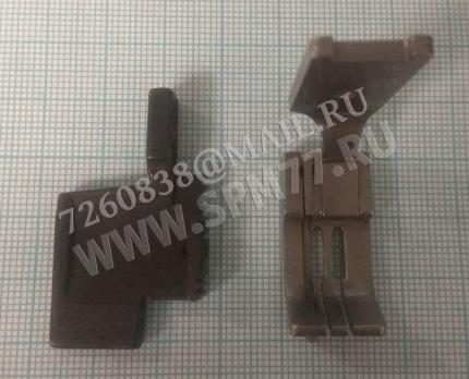 Комплект лапка + двигатель ткани на 2-ух. 3,2мм игольные Brother, Siruba, Juki и т.п. Китай