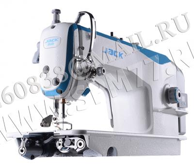 Jack JK-F4H-7 швейная машина (голова) со встроенным серводвигателем на сред.-тяж. ткани и дл.стежка до 7мм