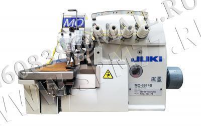 Juki MO-6814S-BE6-34H/G44/Q143 Оверлок 4-х нит. для легких- средн. тканей для притач.ленты