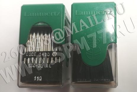 134-35 LL Иглы  DPX35LL  №110 /18 Lammertz (Made in Germany)