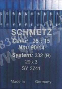 332 (R) Иглы 29х3/ SY3741 /0634-02 № 90/14 SCHMETZ(Германия)