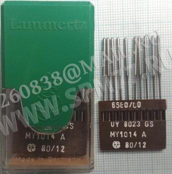 MY 1014 A Иглы № 80/12 SM X 1014 A, UO X 8023 Германия LAMMERTZ