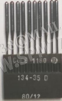 134-35 D Иглы  DPX35 D, 1180  № 80 /12 Lammertz (Made in Germany)