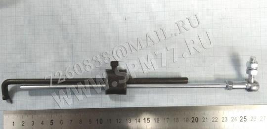 Тяга для педали швейной машины промышленной на двигатель (с пружинкой и шарниром)