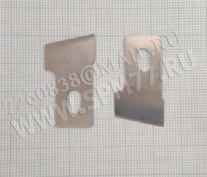 87087 Нож петельный прорубочный 18 мм 25 кл. Подольск стальной, 780 JUKI /SIRUBA, BROTHER 814