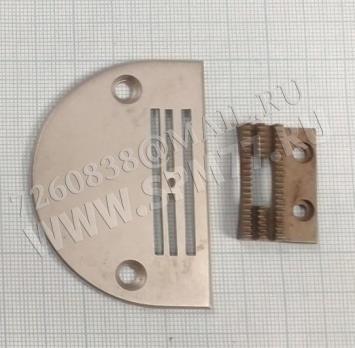Игольная пластина 1,8мм  и  двигатель ткани  TEXTIMA 8332, 8333 ориг. (комплект)