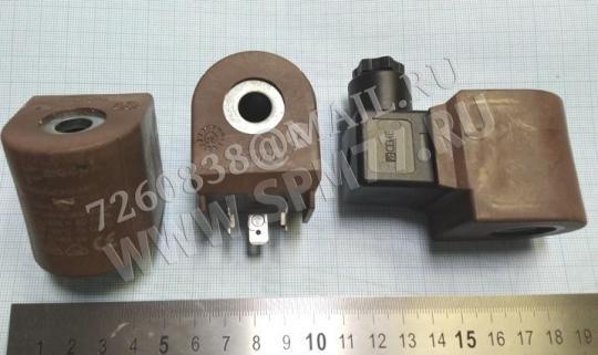 Электромагнитная катушка пароклапана MACPI (пр-во Италия) SERIE 788, AC 220V / 50-60HZ 18.8VA, CLASSE H, ED 100%,  TF 155*C, TA 120*C,  P 0.1-5.5 BAR