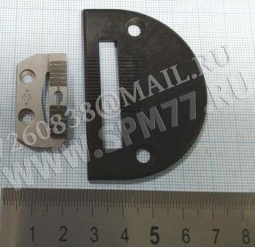 Игольная пластина и двигатель материала на JUKI 1541 комплект