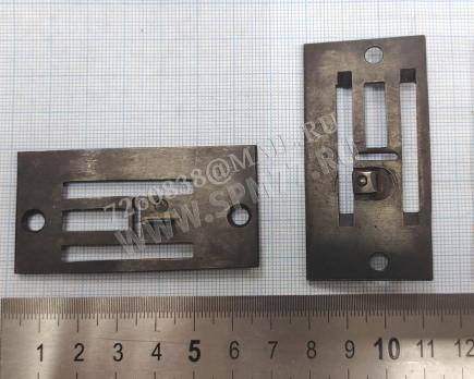 Игольная пластина с ножом направителем 26 класс ПМЗ