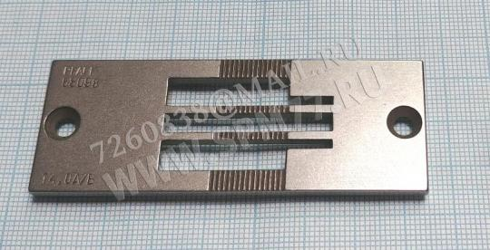 91-058 098-04  14,0 A/B Игольная пластина PFAFF 442 KL 14mm 58098