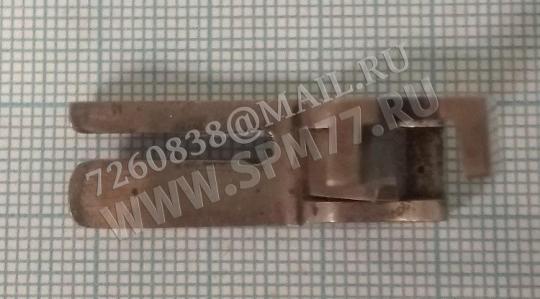 Лапка стальная отечественная для отстрочки с бортиком левая 2мм