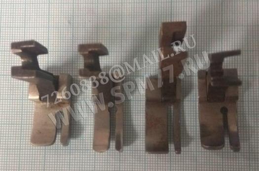 Лапка  правая с бортиком  2мм стальная для 1022 кл, 97 кл, 22 кл.ПМЗ