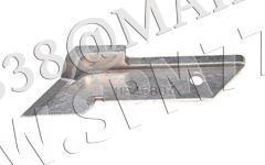 Нож верхний угловой победитовый 118-45807