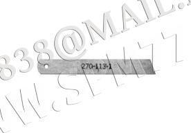 Нож нижний прямой победитовый CT270-113-1 (207015-2-00)